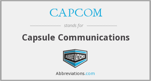 What does CAPCOM stand for?