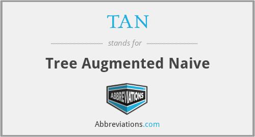 TAN - Tree Augmented Naive