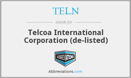 What does TELN stand for?