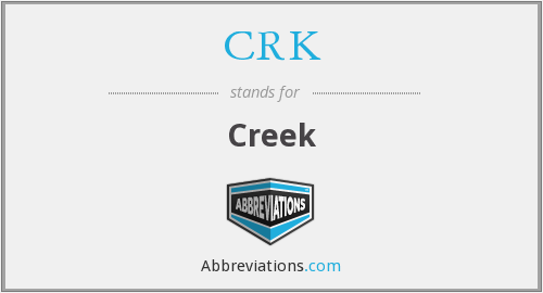 What does CRK stand for?