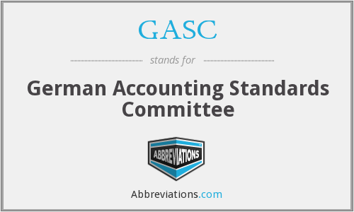 GASC - German Accounting Standards Committee