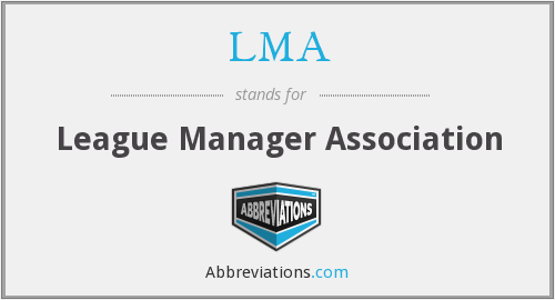 LMA - League Manager Association