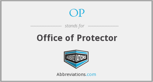 OP - Office of Protector