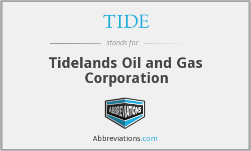 TIDE - Tidelands Oil and Gas Corporation