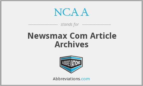 NCAA - Newsmax Com Article Archives