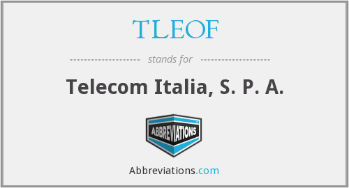 What does TLEOF stand for?