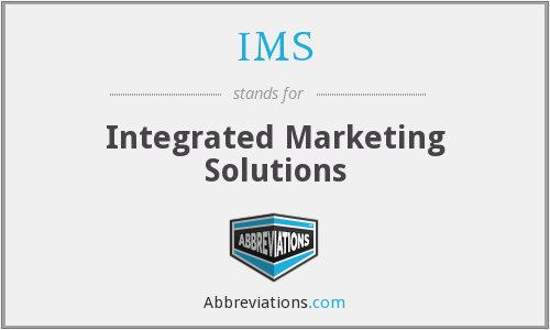IMS - Integrated Marketing Solutions