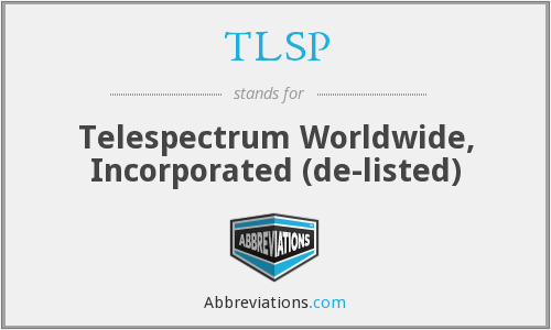 TELESPECTRUM WORLDWIDE logo