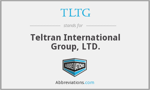 What does TLTG stand for?