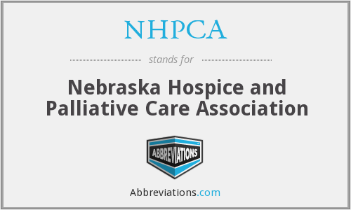 What does NHPCA stand for?