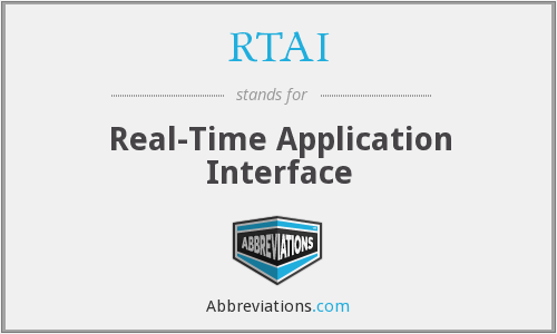 RTAI - Real-Time Application Interface