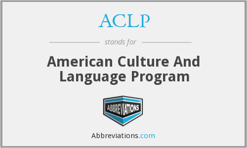 What does ACLP stand for?