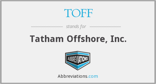 What does TOFF stand for?