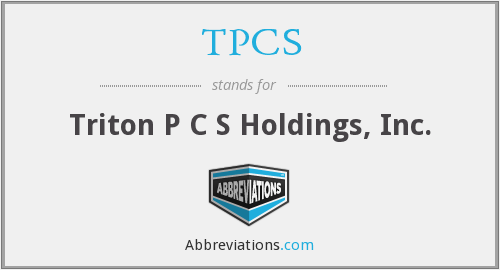 What does TPCS stand for?