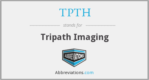 What does TPTH stand for?