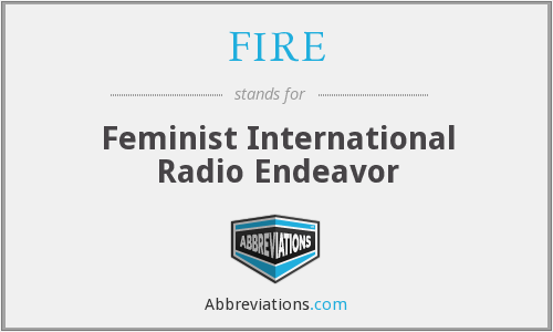 FIRE - Feminist International Radio Endeavor