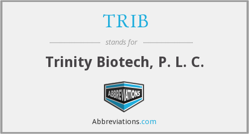 What does TRIB stand for?