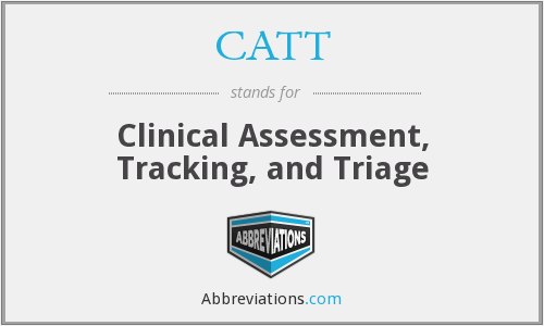 CATT - Clinical Assessment, Tracking, and Triage