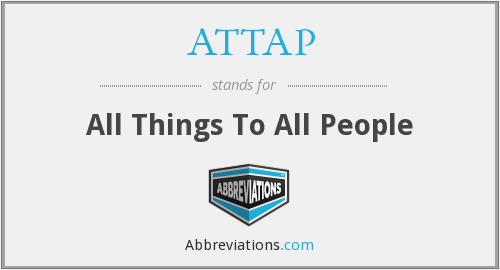 What does ATTAP stand for?