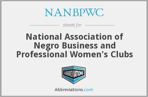 What does NANBPWC stand for?
