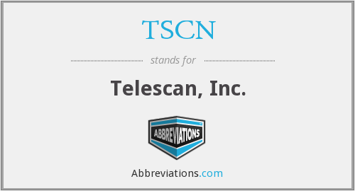 What does TSCN stand for?