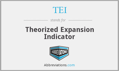 TEI - Theorized Expansion Indicator