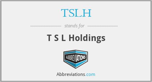 TSLH - T S L Holdings