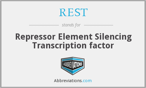 REST - Repressor Element Silencing Transcription factor