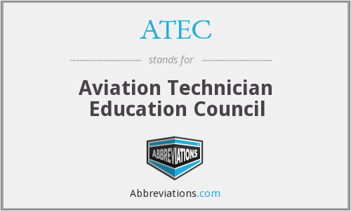 ATEC - Aviation Technician Education Council