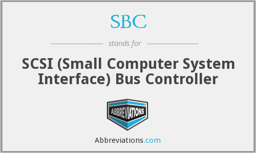 SBC - SCSI (Small Computer System Interface) Bus Controller