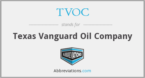 What does TVOC stand for?