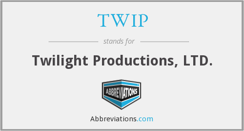 What does TWIP stand for?
