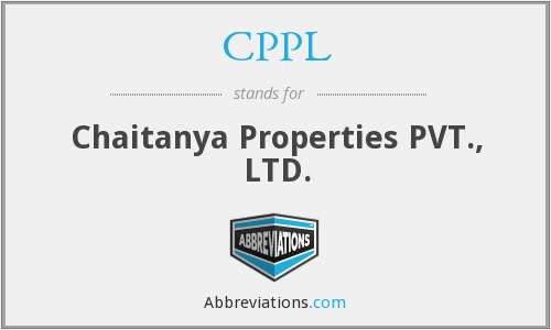 CPPL - Chaitanya Properties PVT., LTD.
