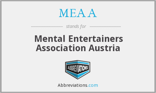 MEAA - Mental Entertainers Association Austria