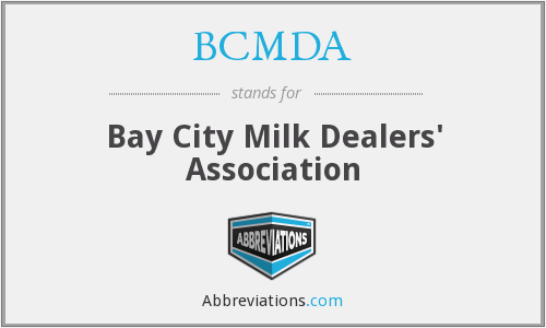 BCMDA - Bay City Milk Dealers' Association