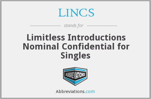 LINCS - Limitless Introductions Nominal Confidential for Singles