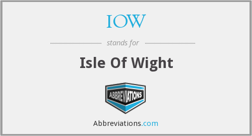IOW - Isle Of Wight
