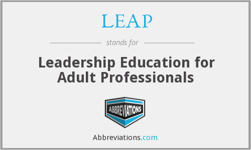 LEAP - Leadership Education for Adult Professionals