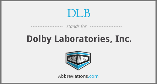DLB - Dolby Laboratories, Inc.