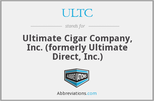 What does ULTC stand for?