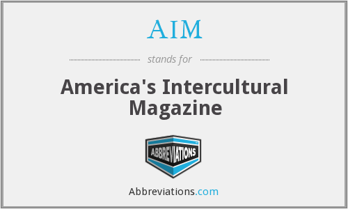 AIM - America's Intercultural Magazine