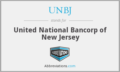 What does UNBJ stand for?