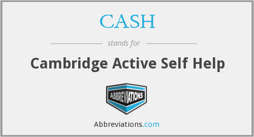 CASH - Cambridge Active Self Help