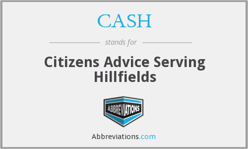 CASH - Citizens Advice Serving Hillfields