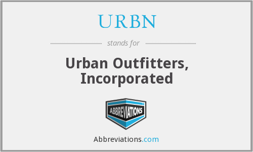 What does URBN stand for?