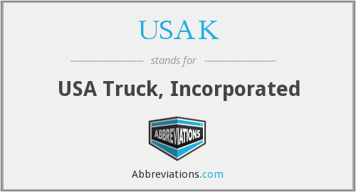 What does USAK stand for?