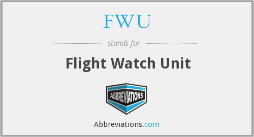 FWU - Flight Watch Unit