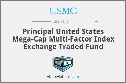 USMC - Principal United States Mega-Cap Multi-Factor Index Exchange Traded Fund