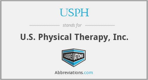 What does USPH stand for?