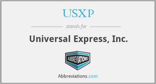 USXP - Universal Express, Inc.